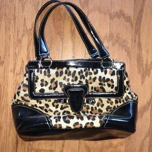 Talbots cute cheetah print handbag.